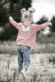 Bomberka minnie bejbistory dziewczynka, rękodzieło, bluza