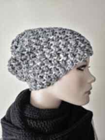 Handmade czapka czapki hermina hand made, zimowa czapka