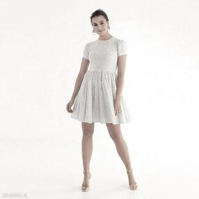 Sukienka 12 ss 2021 sukienki pawel kuzik kropki, groszki