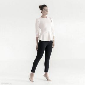 Bluzka 4 ss 2021 bluzki pawel kuzik gładka, elegancka, biurowa
