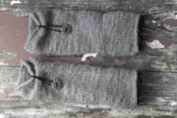 """Mitenki """"żulki"""" rękawiczki by monica druty, dodatki, mitenki,"""