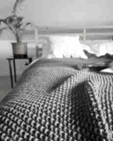 Duży pled koce i narzuty the wool art koc, narzuta, pled