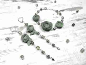 Zamówienie indywidualne dla pani agnieszki: komplet biżuterii