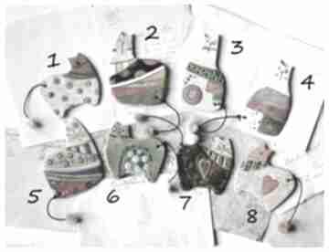 Magnesy z kotami do wyboru wylegarnia pomyslow ceramika, magnes,