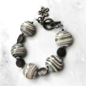 Bransoletka z porcelanowych korali w102 everyday women porcelana