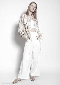 LANTI urban fashion. Kurtka zapinana na napy, kr106 abstrakcyjne