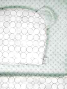 Zestaw niemowlaka kółka mięta pokoik dziecka lilifranko kocyk