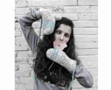 rękawiczki: rękawiczki dwupalczaste zima