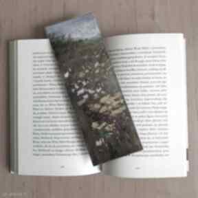Zakładka do książki -łąka zakładki paulina lebida zakładka,