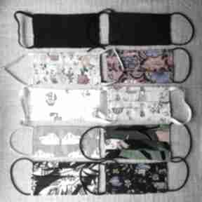 Maseczka ochronna kosmetyczna mix wzorów pakiet 10 szt maska