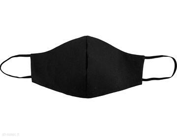 Maska maseczka bawełniana profilowana z kieszonką ella dora