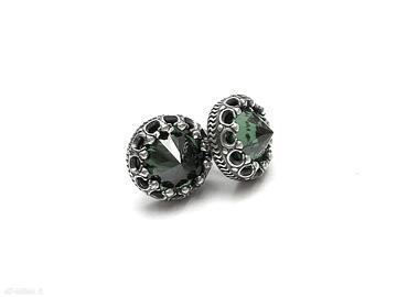 Koronkowe vol 2 emerald - sztyfty katia i krokodyl koronkowe
