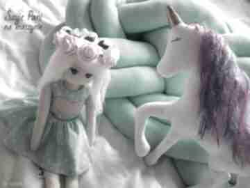 Lalka #191 lalki szyje pani eko lalka, szmacianka, przytulanka,