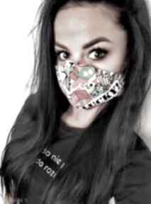 Maska, maseczka streetnewstyle z filtrem maseczki feltrisimi