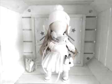 Lalka szmacianka kolekcjonerska na chrzest święty lalki