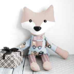 Sprytny lisek - wojtek 42 cm zabawki maly koziolek lis, zabawka