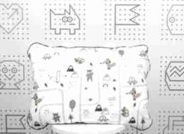 Płaska poduszka do łóżeczka brum dla dziecka nuvaart poduszka