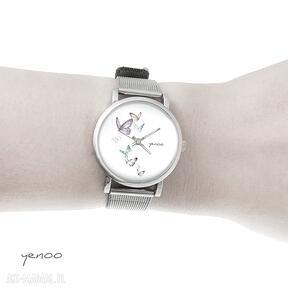Zegarek, bransoletka - motyle mały zegarki yenoo bransoletka