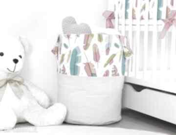 Nunli. piórka pióra pojemnik-na-zabawki dla-dziewczynki