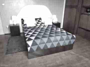 #7 narzuta na łóżko nakrycie denim patchwork koce i narzuty