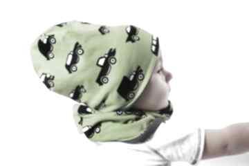 Czapka zielone autka giggi czapka,