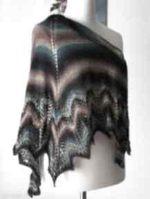 BuenaArtis! rękodzieło chusta-na-drutach ręcznie-wykonana-chusta