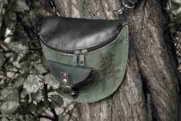 Skórzana nerka leśne licho dostępna od ręki nerki czajkaczajka