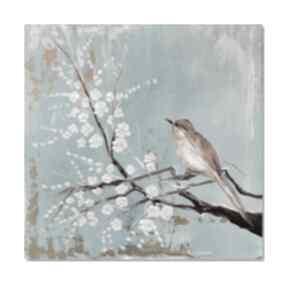 Ptasi śpiew, nowoczesny obraz ręcznie malowany aleksandrab obraz