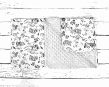 Kocyk minky 75x100 alicja w krainie czarów dla dziecka nuvaart