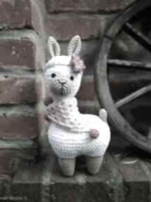 Alpaka szydełkowa maskotka zabawka maskotki ilovemama zabawki