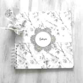 Album - kwiaty jabłoni prezent na urodziny, komunię, ślub