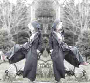 Płaszcz z krainy czarów płaszcze monika jaworska kombinezon