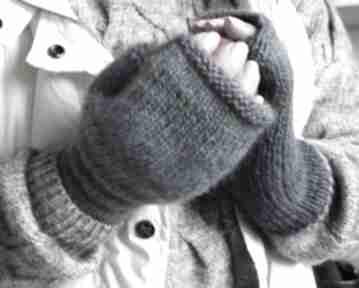 Mitenki niebieskie ombre rękawiczki jaga11 ciepłe, miękkie