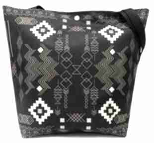 na ramię Torba trapezowa-shopper bag