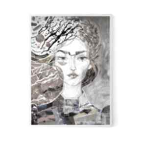 Plakat 40x50 cm - konik plakaty creo plakat, wydruk, twarz