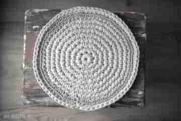 Podkładka podkładki by monica sznurek, szydełko, kuchnia