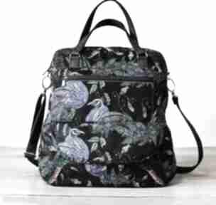 Torebka listonoszka - pawie na ramię torebki niezwykle elegancka