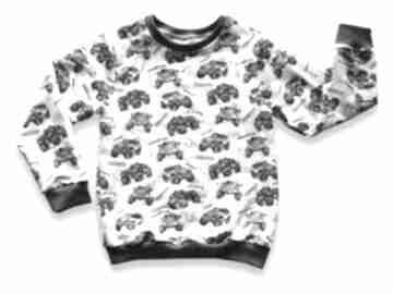 BamBibluza-dla-chłopca bluza-samochody bluza-z-nadrukiem