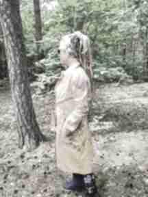 Płaszcz damski kolorowy bawelniany l pacha-pacha 54 cm, długość