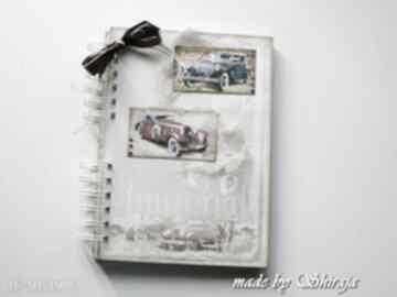 Notes pamiętnik 'retro car' notesy shiraja pamiętnik, retro