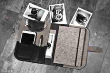 Organizer, notes, kalendarz, idealny prezent, skórzany planer