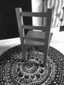 Krzesełko dziecięce - meble dla dzieci pokoik dziecka wnetrze