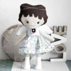 Aniołek stróż - alicja 35 cm lalki maly koziolek lalka, aniołek