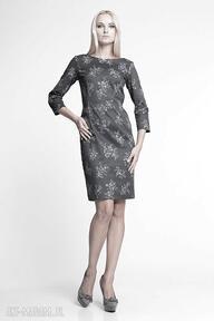 Berenika - sukienka sukienki pawel kuzik moda, bawełna, jesień