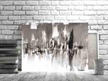 Miasto cieni estera grabarczyk szary obraz, obraz