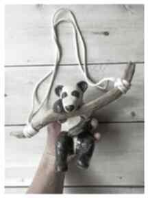 Wylegarnia pomyslow: ceramika panda gałąź drewnoznadmorza