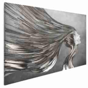 Obraz na płótnie - twarz paski 120x80 cm 21901 vaku dsgn twarz