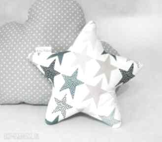 Mała poduszka gwiazdka zaczarowane niebo - róż pokoik dziecka