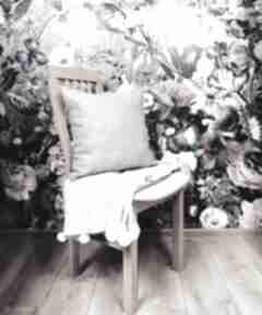 Poduszka dekoracyjna, wełniana, beżowa poduszki dizzydot