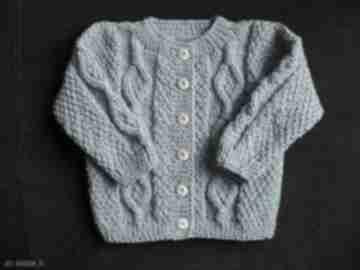 "Sweterek ""romby"" gaga art sweterek, rozpinany, rękodzieło,"